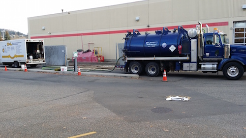 D&L Environmental Vacuum Truck in Kelowna BC