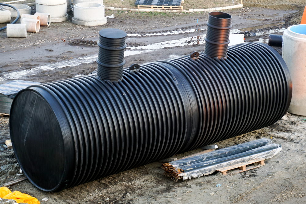 septic tank components